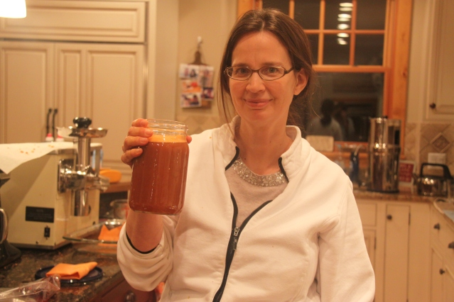 Courageous Carrot and her mighty juice!